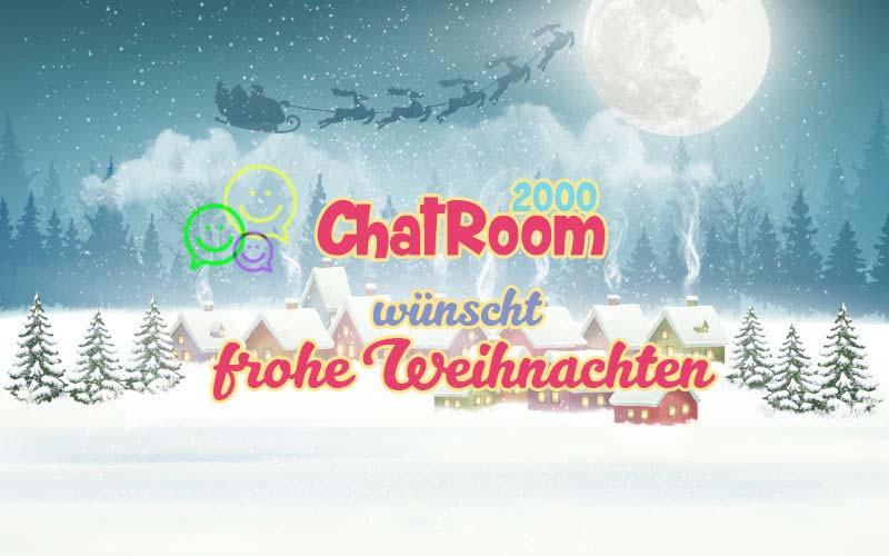 Frohe Weinachten wünscht Chatroom2000